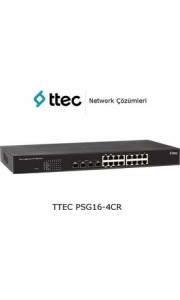 ttec Switch PSG16-4CR, 16 portlu Gi